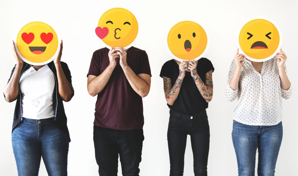social media addiction emoticons