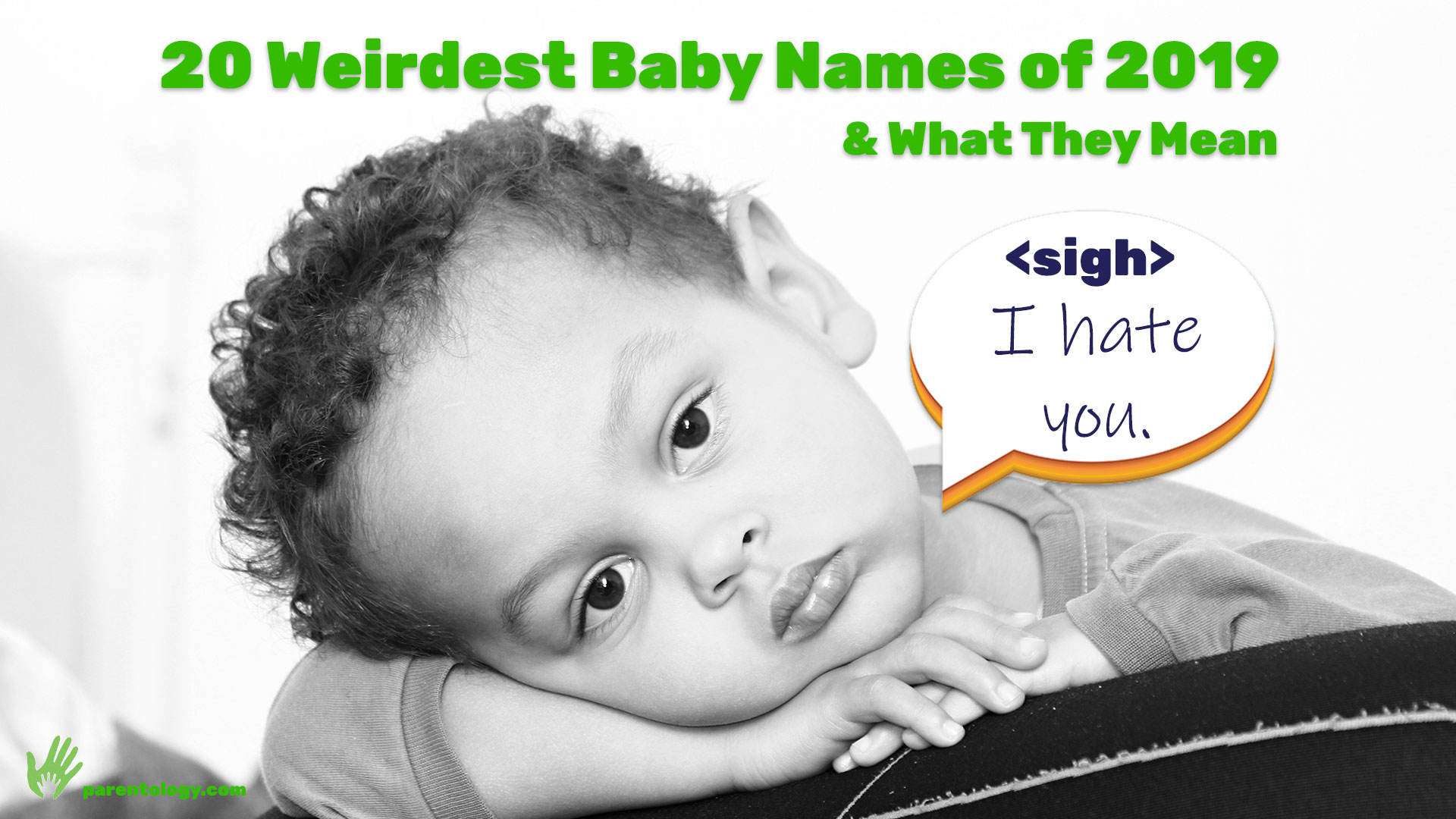 20 Weirdest Baby Names 2019 & What They Mean | Parentology