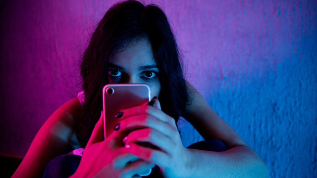 addicted to social media cyber stalking