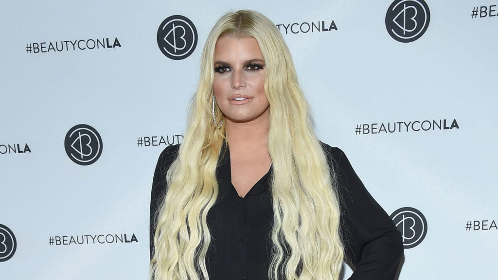 Another celebrity mom in 2019 is Jessica Simpson