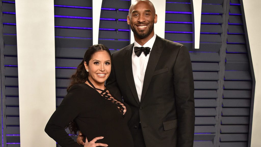 Vanessa and Kobe Bryant celebrities having babies in 2019