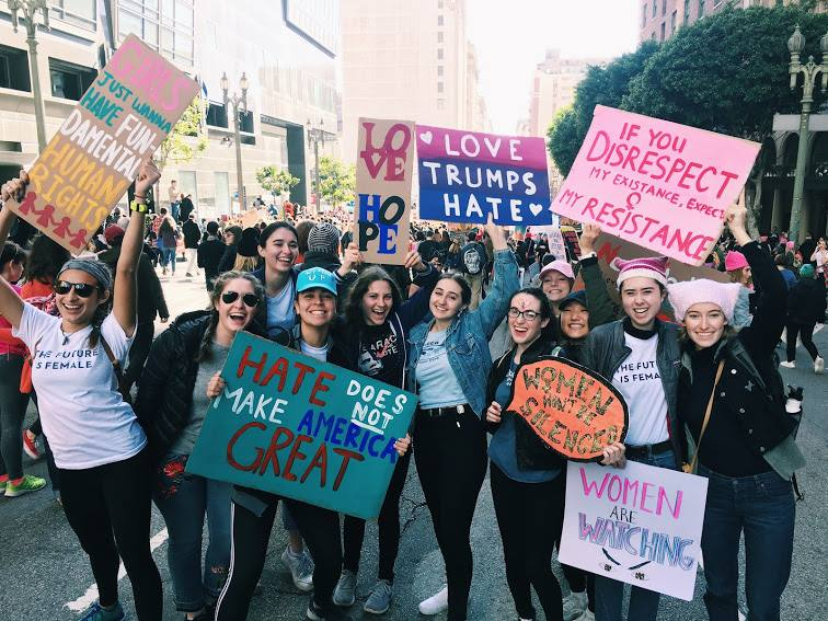 Mother's Day Other Mothers Women's March in LA