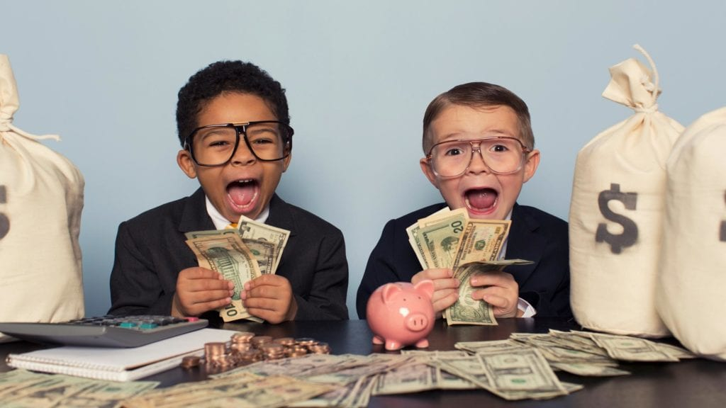 money lessons for kids - savings accounts