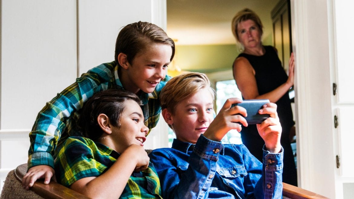 study on kids and smartphones