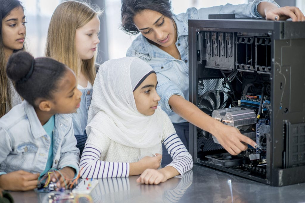 Girls outscoring boys in STEM subjects