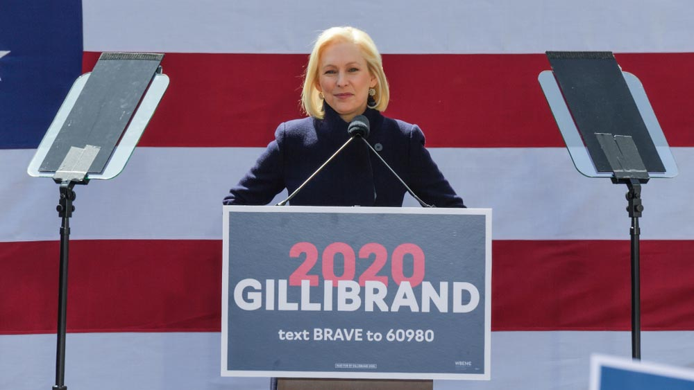 Kirsten Gillibrand Family Bill of Rights infographic