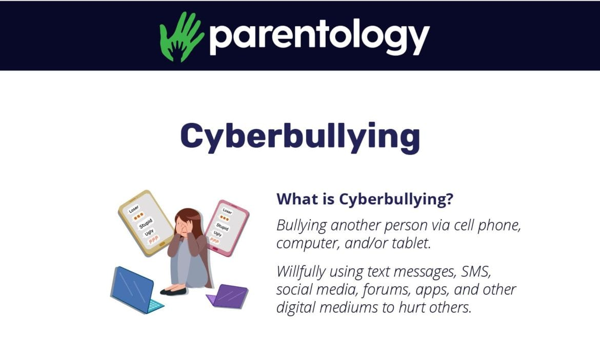 Cyberbullying infographic 2019