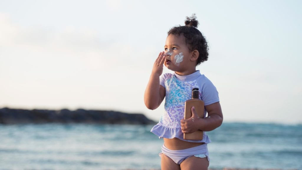 dangers of sunscreen chemicals in blood