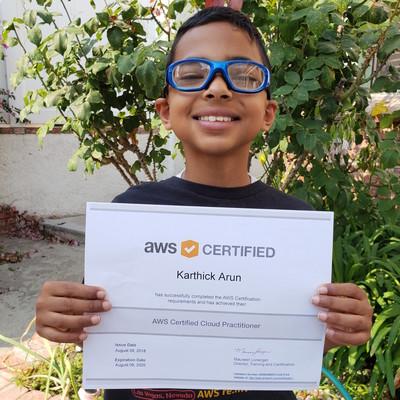 World's Youngest Amazon Cloud Expert 400X400