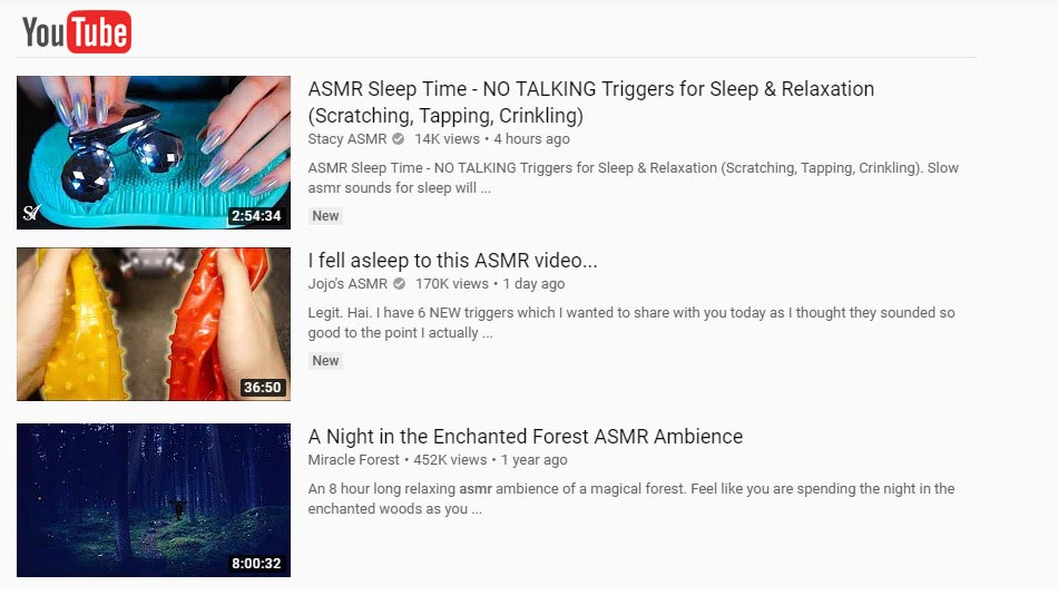 What does ASMR Mean