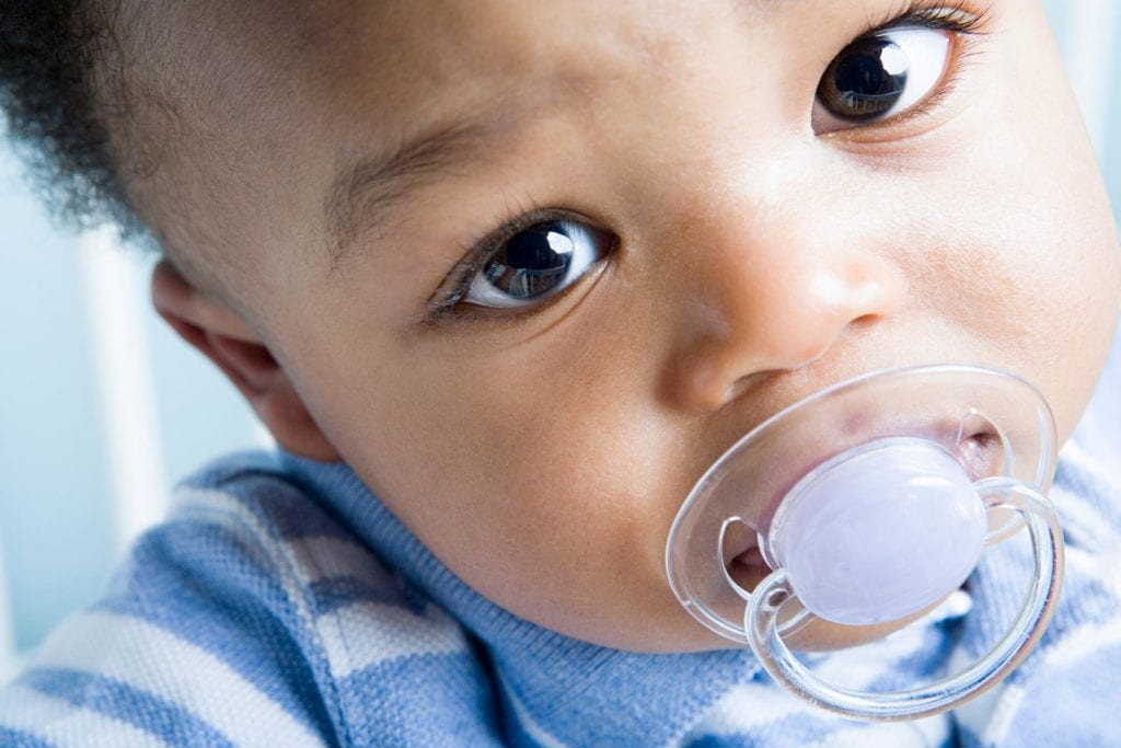 When should child stop using pacifier