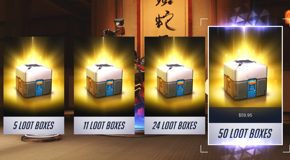 are loot boxes gambling