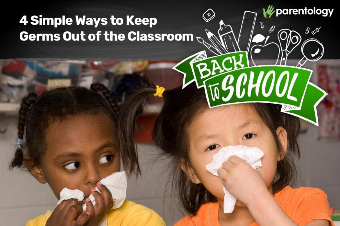 how to keep germs out of the classroom