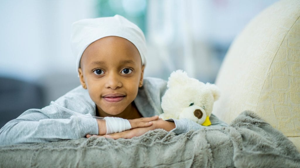 how to support a child with cancer