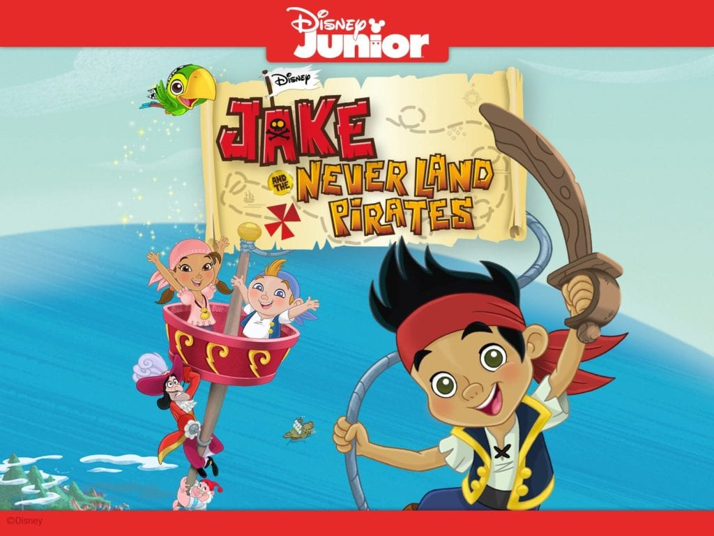 Jake and the Never Land Pirates disney plus