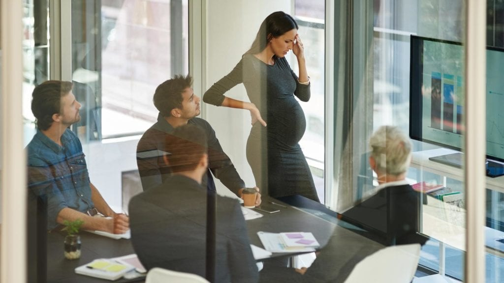 what is pregnancy discrimination at work