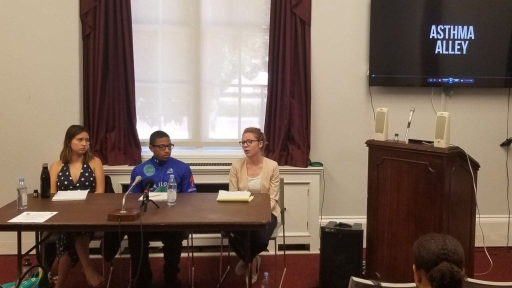 Young Climate Change Activists Talk Air Quality