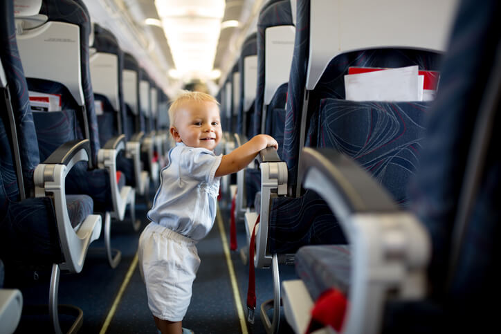 best times to fly with a baby