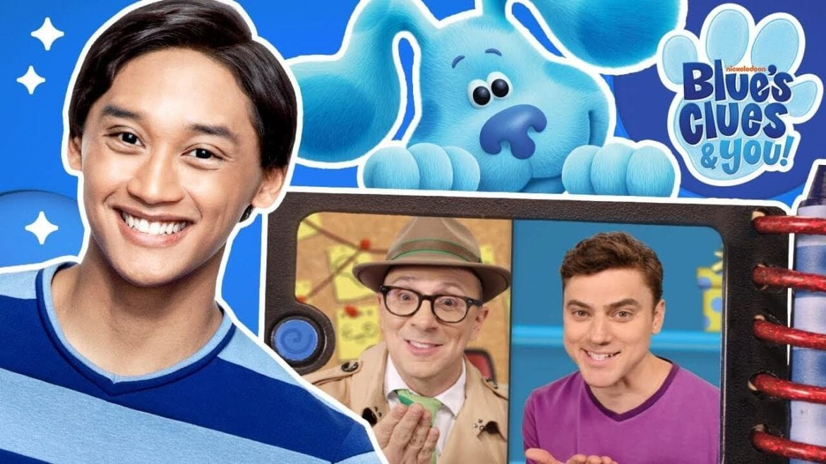 blue's clues and you premiere
