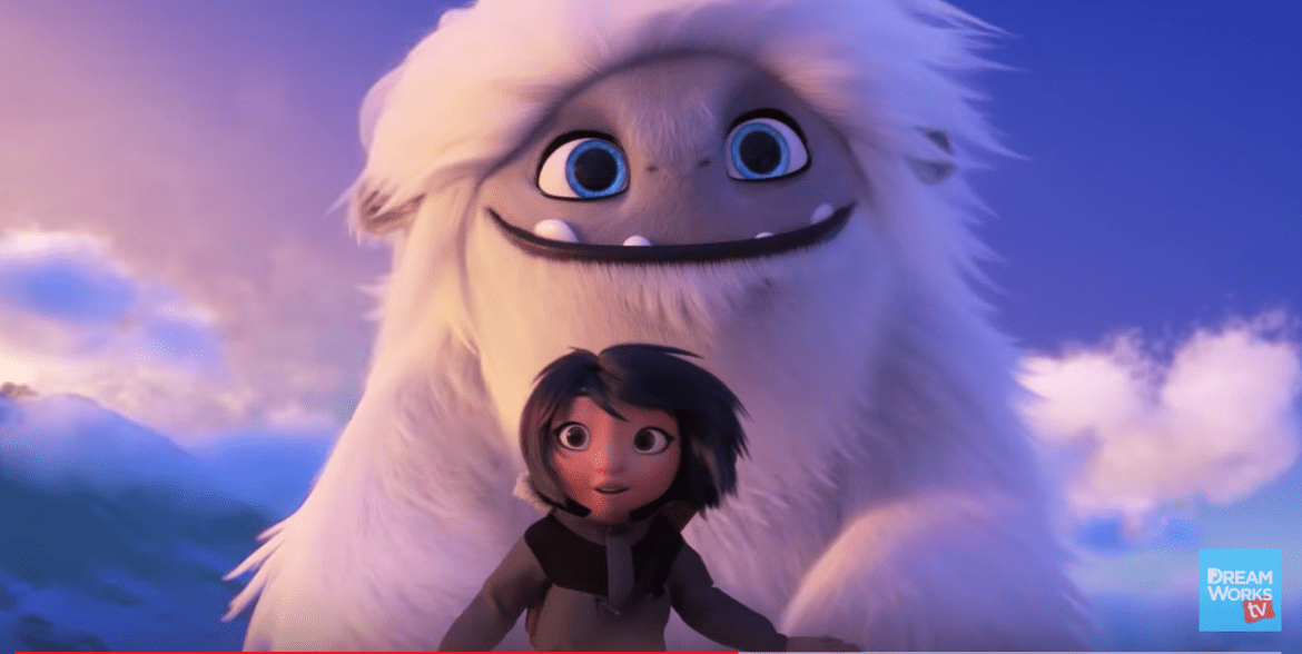 dreamworks abominable