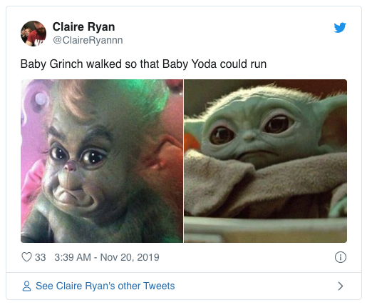 45 of the Funniest Baby Yoda Memes - Page 35 of 45 ...