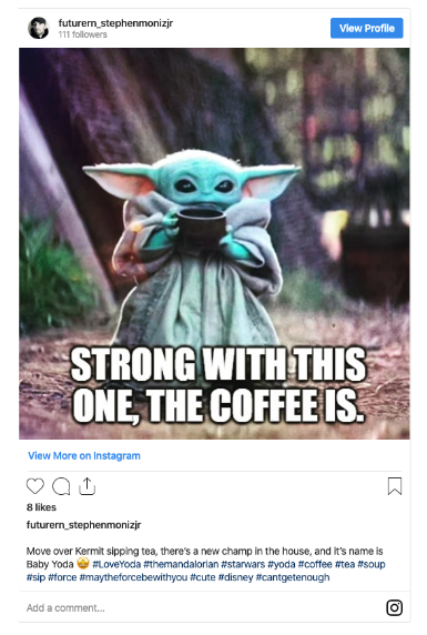 45 of the Funniest Baby Yoda Memes - Page 38 of 45 ...