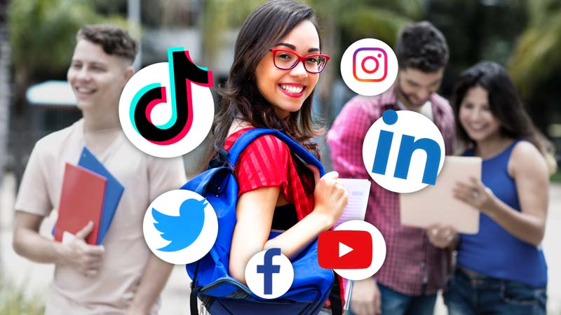 social media affects college admissions