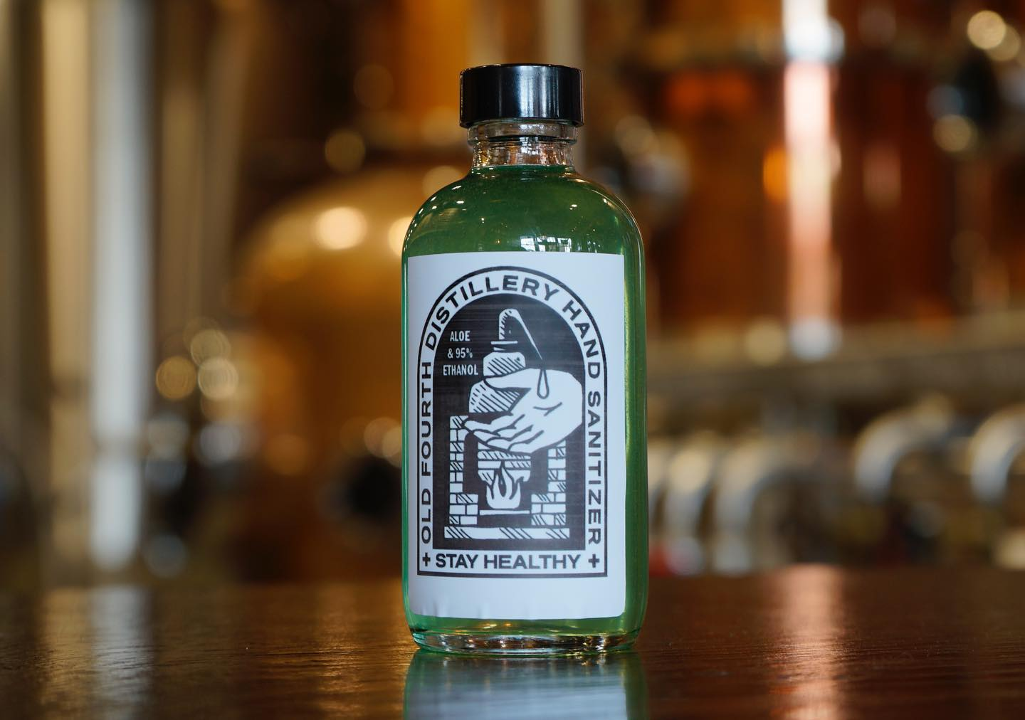 Pennsylvania Distiller Turns from Hooch to Hand-Sanitizer