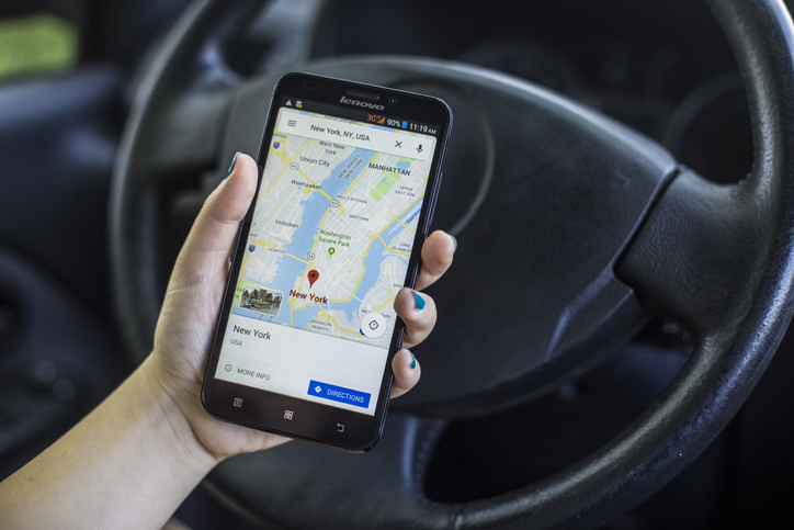 google mobility report