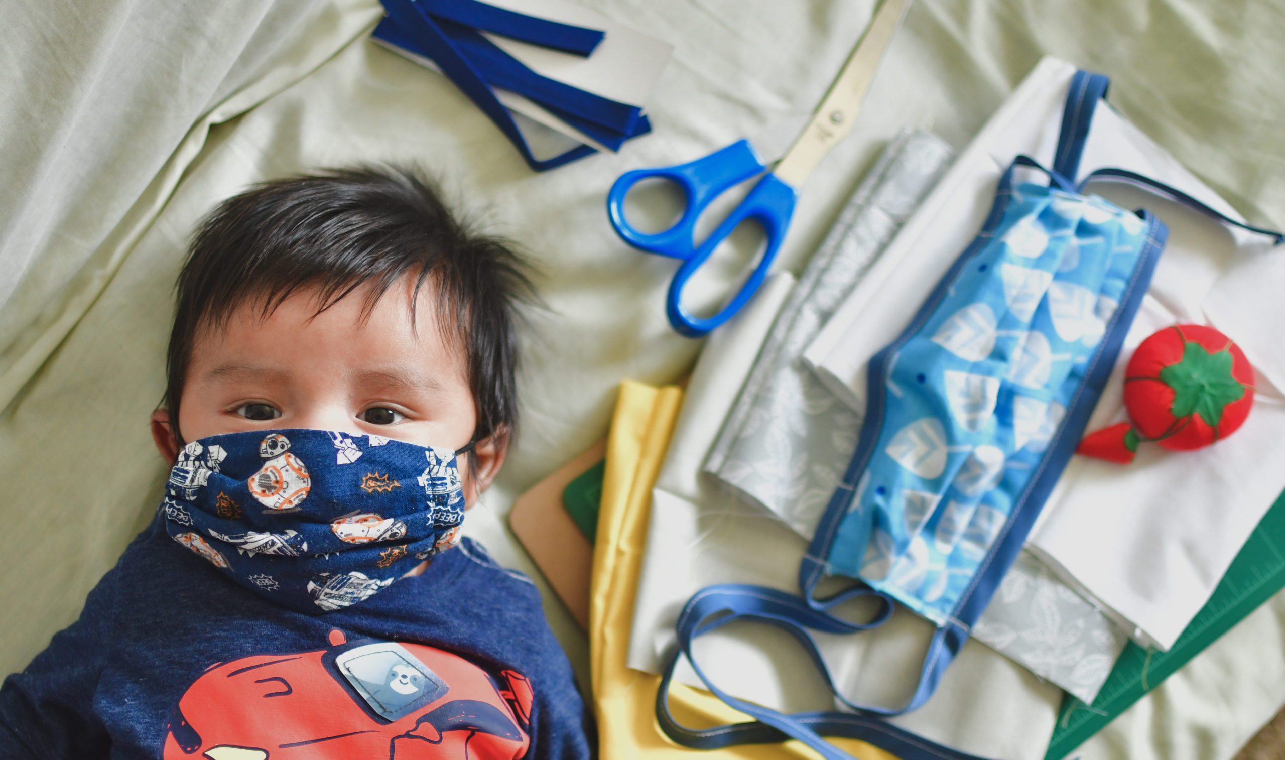 How To Make Your Own Fabric Face Mask Parentology