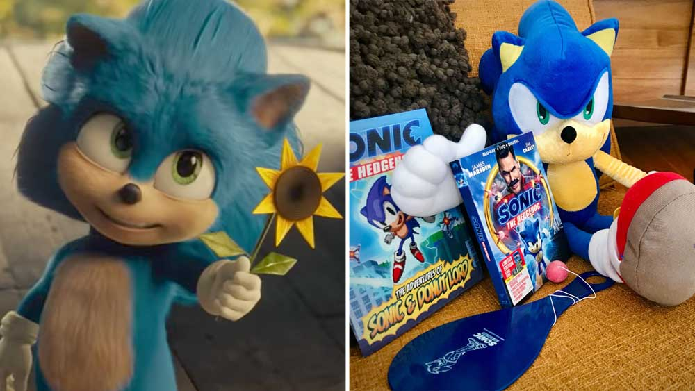 Win Sonic The Hedgehog Giveaway Parentology