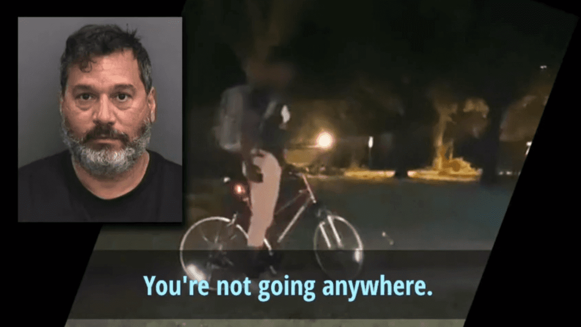 florida man detains black teen