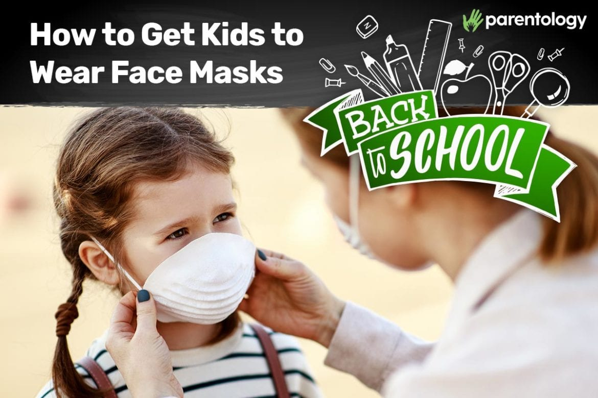 how to get kids to wear masks