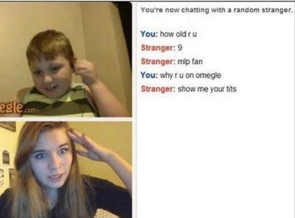 Sex conversation omegle Can Your