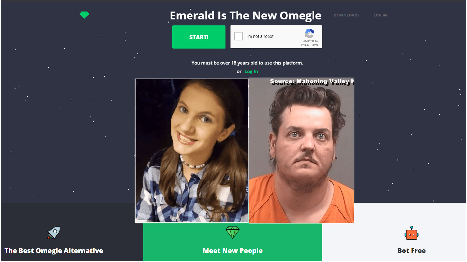 Is Emerald Chat Safe?  – Omegle alternative could be a new tool for predators